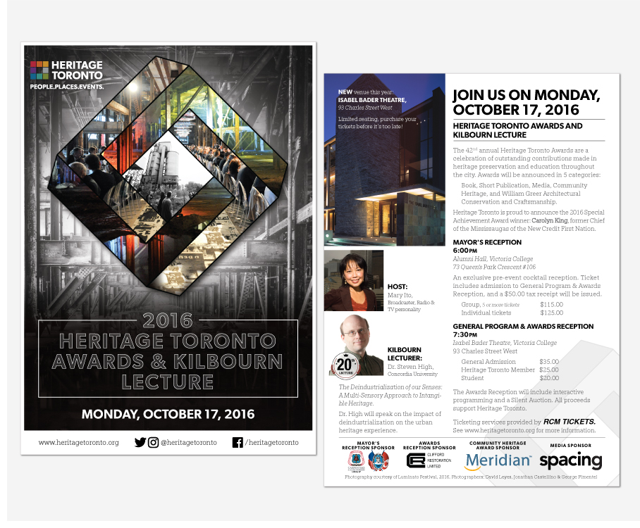The Heritage Toronto Awards and Kilbourn